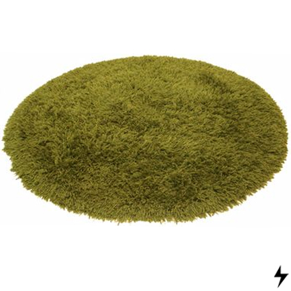 Alfombras siete rayos for Alfombra redonda verde